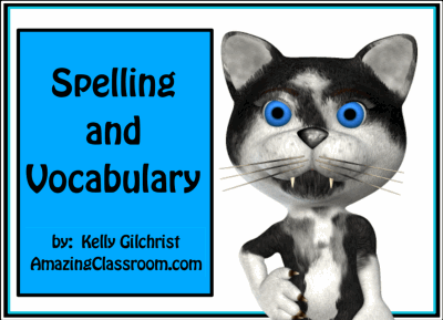 Spelling & Vocabulary Practice