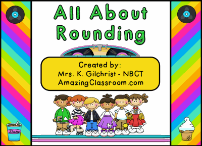 Rounding Numbers Flipchart Lesson