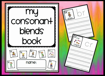 Consonant Blends Book