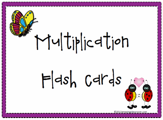 Persnickety image intended for multiplication flash cards printable 1 12