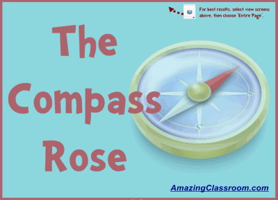 Learn Directions & The Compass Rose