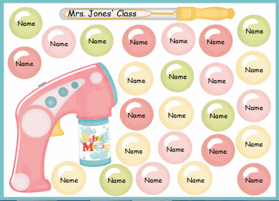 Bubbles Random Name Choose