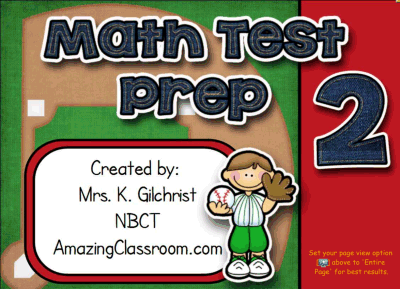 Math State Test Practice 2 Smart