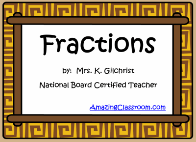 Understanding & Learning Fractions