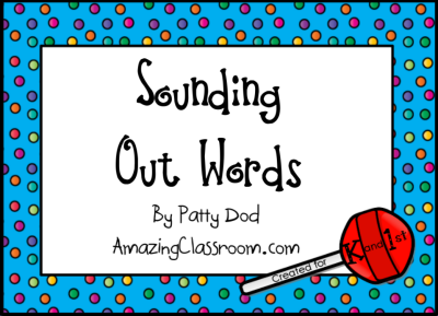 Sounding Out Words Flipchart Lesson