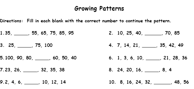Active Worksheets Sequences Functions And