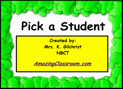 Student Picker - Gross Nose Chooser