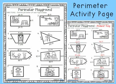 Perimeter Playground Worksheet