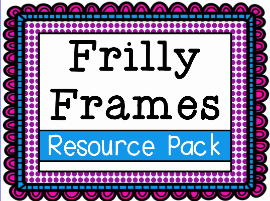 Frilly Frames Backgrounds