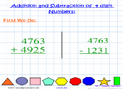 4-Digit Addition & Subtraction Fun