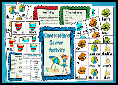 Contractions Center Activity