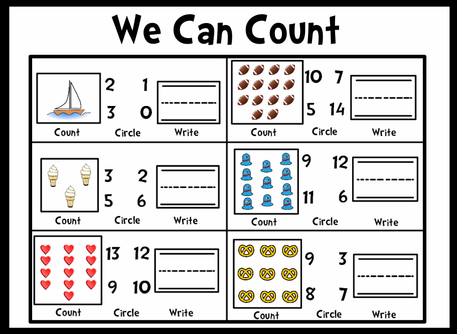 Worksheet also Counting Objects Worksheets additionally Counting ...