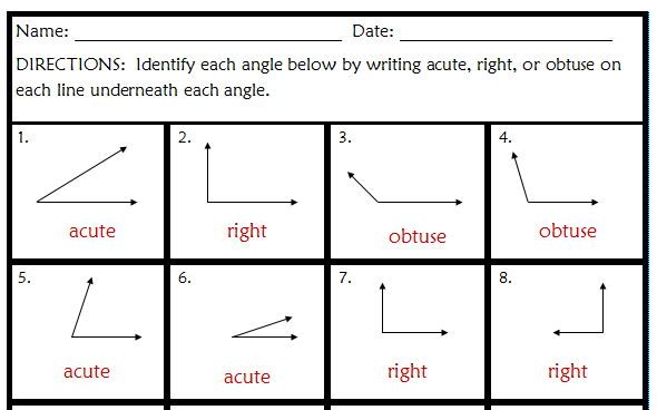Printables Acute Obtuse And Right Angles Worksheets acute and obtuse angles worksheets abitlikethis right worksheet as well plementary in addition