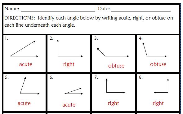 Geometry 4th Grade Scalien – Grade 4 Math Worksheets Geometry