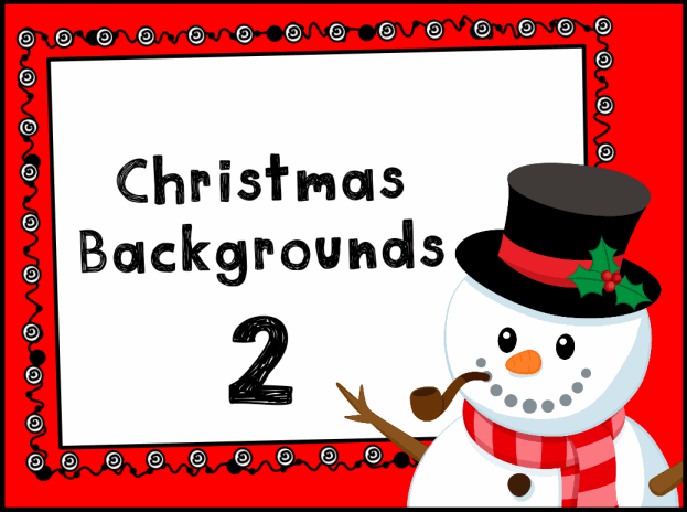 Picture A Christmas Flipchart.Christmas Backgrounds Resource Pack Promethean Resource