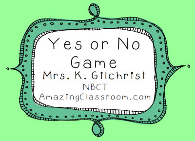 Classroom Behavior Managment Game!