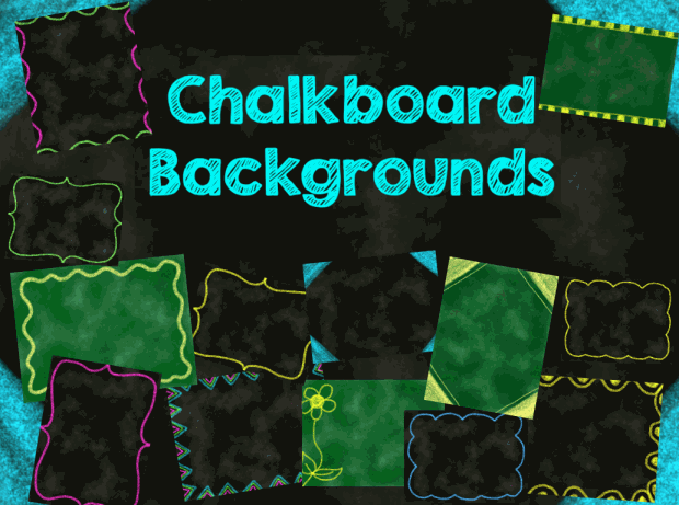 chalkboard style backgrounds promethean resource gallery