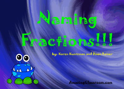 Introduction To Fractions - Naming