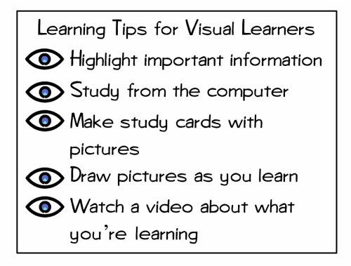 3 Classroom Learning Styles Posters