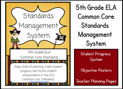 5th ELA CCSS Management System