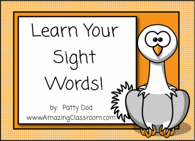 Learning Common Sight Words SMART