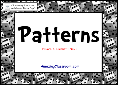 Extending & Growing Patterns