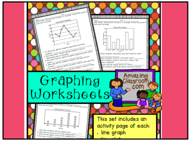 Graphing Worksheet Set