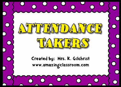 Attendance Takers