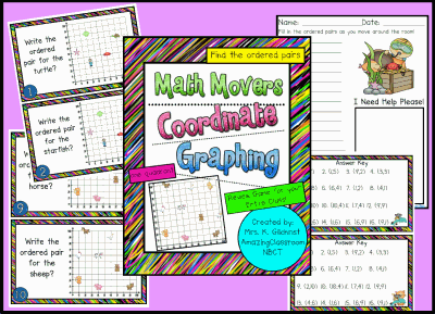 Math Movers Coordinate Graphing